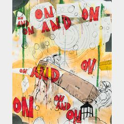 Thaddeus Strode (American, b. 1964)      On and On and On and On and On