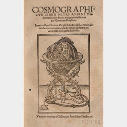 Apianus, Petrus (1495-1552) Cosmographicus Liber