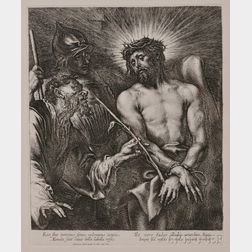 After Sir Anthony van Dyck (Flemish, 1599-1641)      Christ Crowned with Thorns