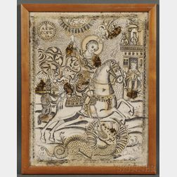 Italian or Greek School, 15th/16th Century Style      St. George and the Dragon