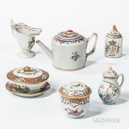 Group of Export Porcelain Tea Ware