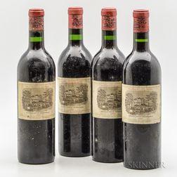 Chateau Lafite Rothschild 1961, 4 bottles