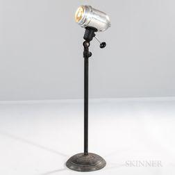 M. Brandt & Sons Adjustable Height Industrial Floor Lamp