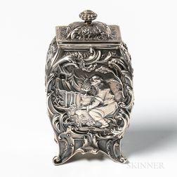 Gorham Sterling Silver Tea Canister