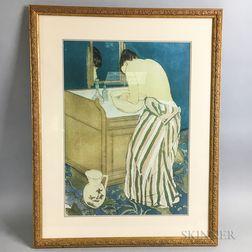 Framed Print After Mary Cassatt