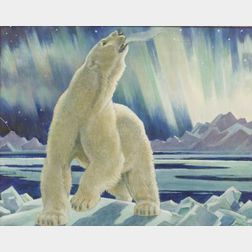 Paul Bransom (American, 1886-1979)  Polar Bear