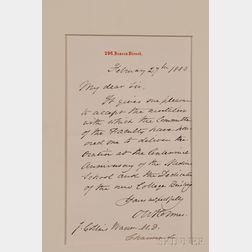 Holmes, Oliver Wendell (1809-1894)