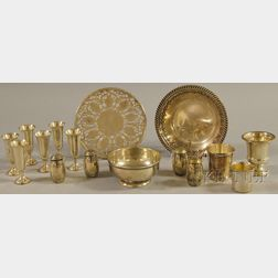 Group of Small Sterling Silver Tableware