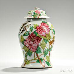 Large Covered Jar