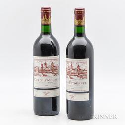 Chateau Cos dEstournel 1990, 2 bottles