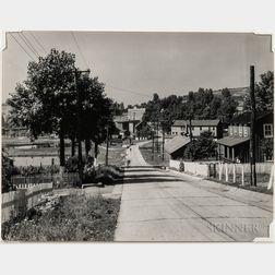 Walker Evans (American, 1903-1975)       Mining Town, Westmoreland County, Pennsylvania