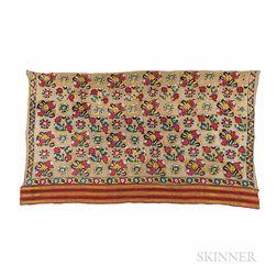 Ottoman Silk Embroidery with Sash