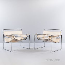 Two Wassily-style Armchairs