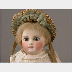Small Bisque Head Portrait Jumeau Bebe
