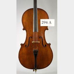 English Violoncello, Matthew Furber, London, 1820