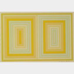 Richard Anuszkiewicz (American, b. 1930)      Optical Abstraction
