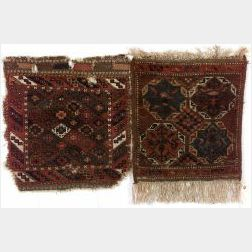 Two Baluch Bagfaces