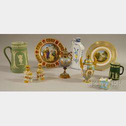 Ten Assorted European Ceramic Items