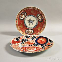 Two Japanese Porcelain Dishes