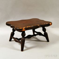 Wallace Nutting Turned Footstool