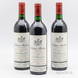 Chateau Montrose 1990, 3 bottles