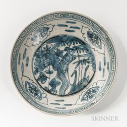 Blue and White Dish