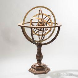 Monumental 31-inch Armillary Sphere