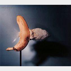 Harold Eugene Edgerton (American, 1903-1990)      Bullet Through Banana