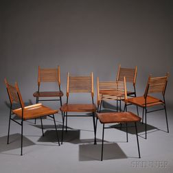 Six Paul McCobb for Planner Group Dining Chairs