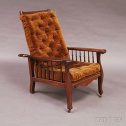Walnut Morris Chair