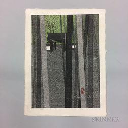 Kiyoshi Saito (1907-1997), Jizo-in, Kinugasa-yama, Kyoto