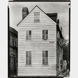 Walker Evans (American, 1903-1975)       Frame House on Corner, Charleston, South Carolina