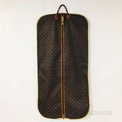 Louis Vuitton Leather Garment Bag