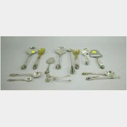 Thirteen Pieces of Georg Jensen and Scandinavian-style Sterling Silver
