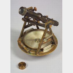 Brass Theodolite by W. & L. E. Gurley