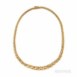 Tiffany & Co. 18kt Gold Braid Necklace