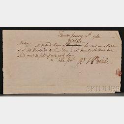 Paine, Robert Treat (1731-1814), Signer from Massachusetts