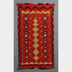Small Navajo Germantown Textile