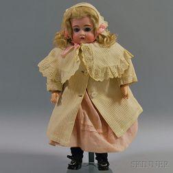 Kestner Open-mouth 167 Bisque Head Doll