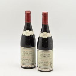 Bruno Clair Chambertin Clos de Beze 1995, 2 bottles