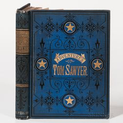 Twain, Mark (1835-1910) The Adventures of Tom Sawyer.