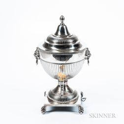 Tuttle Sterling Silver Hot Water Urn