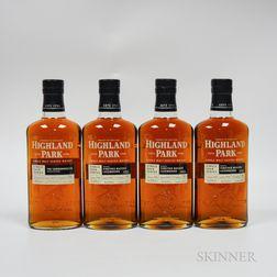 Highland Park Single Cask Series, 1 750ml bottle 3 70cl bottles