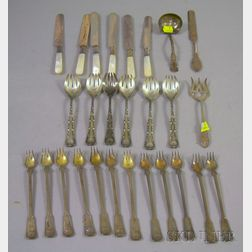 Group of Tiffany Sterling Flatware and Other Items