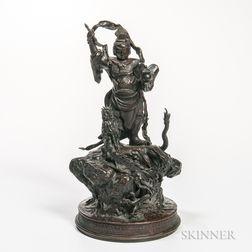 Bronze Figure of a Warrior