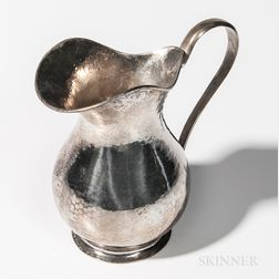 Italian .800 Silver Pitcher