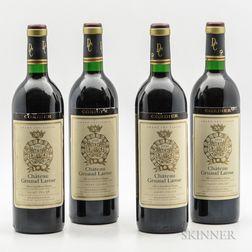 Chateau Gruaud Larose 1990, 4 bottles