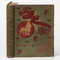 Burnett, Frances Hodgson (1849-1924) Little Lord Fauntleroy  , Two Copies.