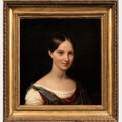Ferdinando Cavalleri (Italian, 1794-1865)      Portrait of a Young Woman