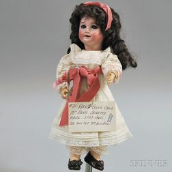 SFBJ 301 Bisque Head Girl Doll
